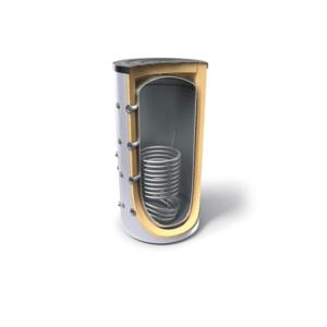 Буферен съд Tesy V 15S 1000 99 F44 P5, Обем 1000 л, за отоплителни инсталации със серпентина